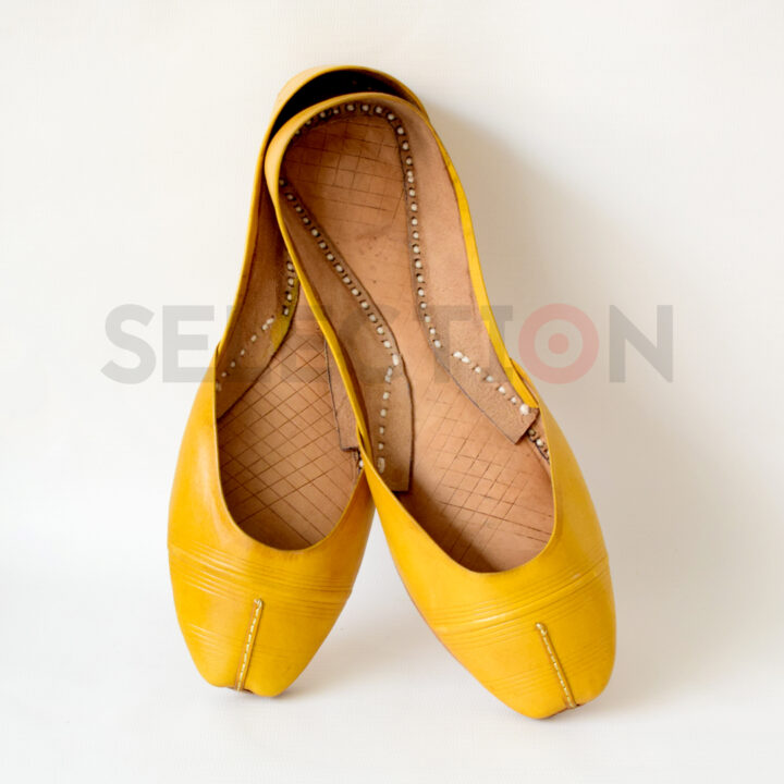 Selection Pure Leather Hand Made Multani Khussa With Leather Sole
