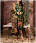 Unstitched 3 PCs Printed Lawn Shirt with Printed Lawn Dupatta & Cambric Trouser - IP-09B
