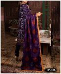 Unstitched 3 PCs Printed Lawn Shirt with Printed Lawn Dupatta & Cambric Trouser - IP03B
