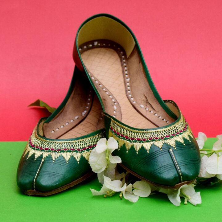 Pure Leather Hand Made Multani Traditional Khussa's