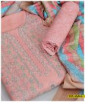 Winter Linen With Wool Shawl 3 PCs Embroidered Suit - S02-4566A