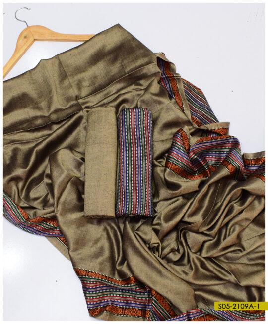 Sussi Silk Winter 3 PCs Un-Stitched Suits – S05-2109A