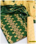 Printed Winter Linen Embroidered Suits With Wool Shawls - S02-4293Ba