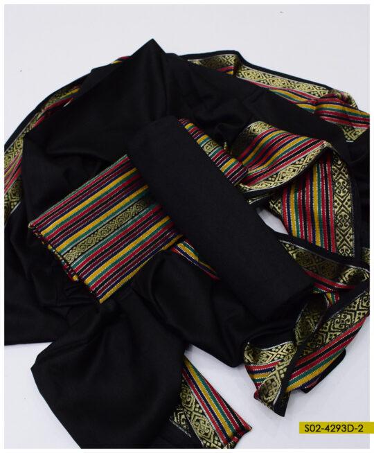 Winter Sussi Stuff 3 PCs Zari Un-Stitched Suits – S02-4293D
