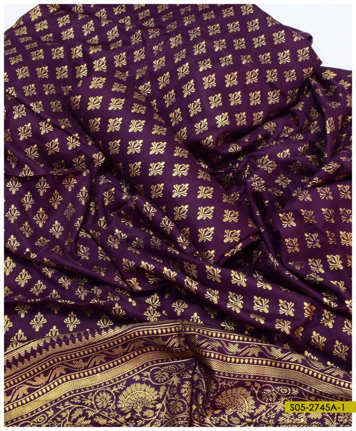 Printed Linen 2 PCs Shirt and Dupatta - S05-2745A1