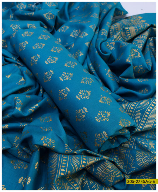Printed Linen 2 PCs Shirt and Dupatta - S05-2745Ac