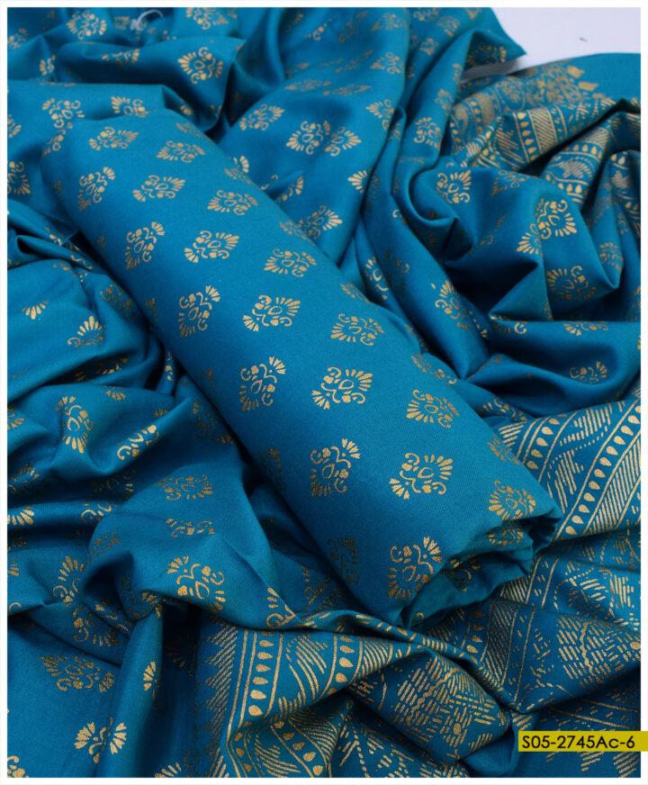 Printed Linen 2 PCs Shirt and Dupatta - S05-2745Ac