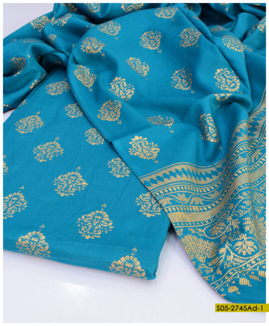 Printed Linen 2 PCs Shirt and Dupatta - S05-2745Ad