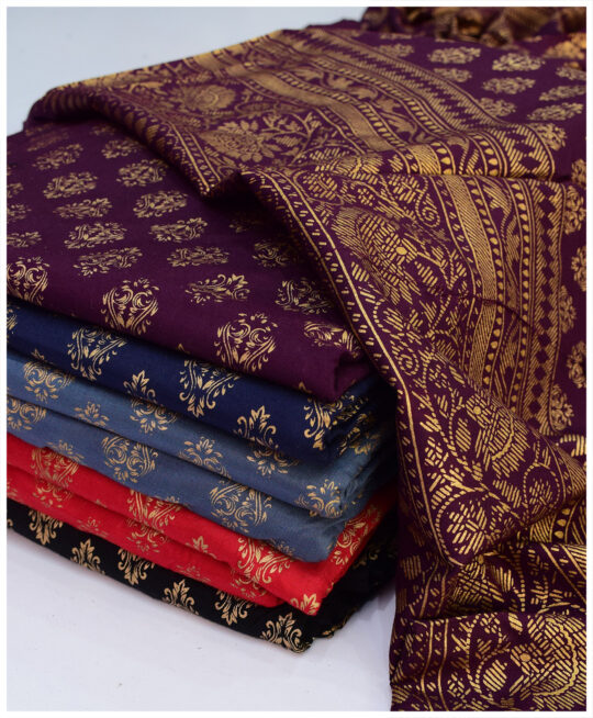 Printed Linen 2 PCs Shirt and Dupatta – S05-2745Af