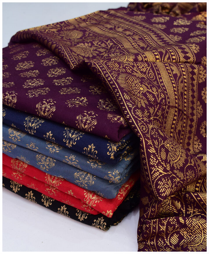 Printed Linen 2 PCs Shirt and Dupatta - S05-2745Af