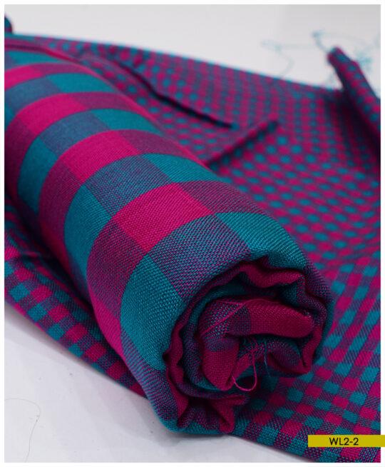 2 PCs Acrylic Wool Un-Stitched Suits – WL2