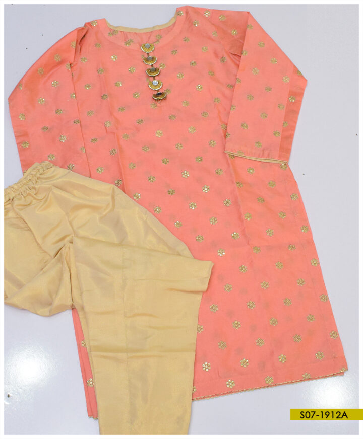 2 PCs Stitched \ Shirt and Masoori Trouser