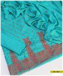 Embroidered Linen 3 PCs Un-Stitched Suit -SEL202