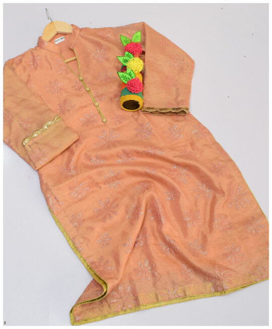 Selection's Paper Silk Stitched Shirt