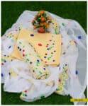 3 PCs Cotton Lawn Bareeze Embroidered Suit with Chiffon Dupatta - SEL310