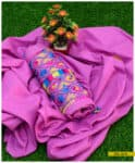 3 PCs Lawn Hand Embroidered Suit with Lawn Dupatta - SEL314